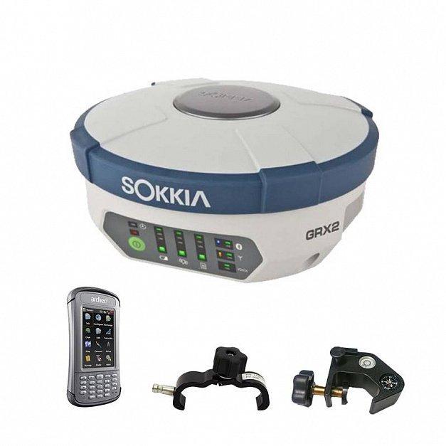 Комплект геодезического спутникового приемника GRX2 с контроллером Archer2