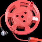 Катушка Радио-Сервис с красным проводом 10м. РЛПА.685442.004