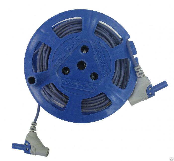 Катушка Радио-Сервис с синим проводом 10м. РЛПА.685442.004-01