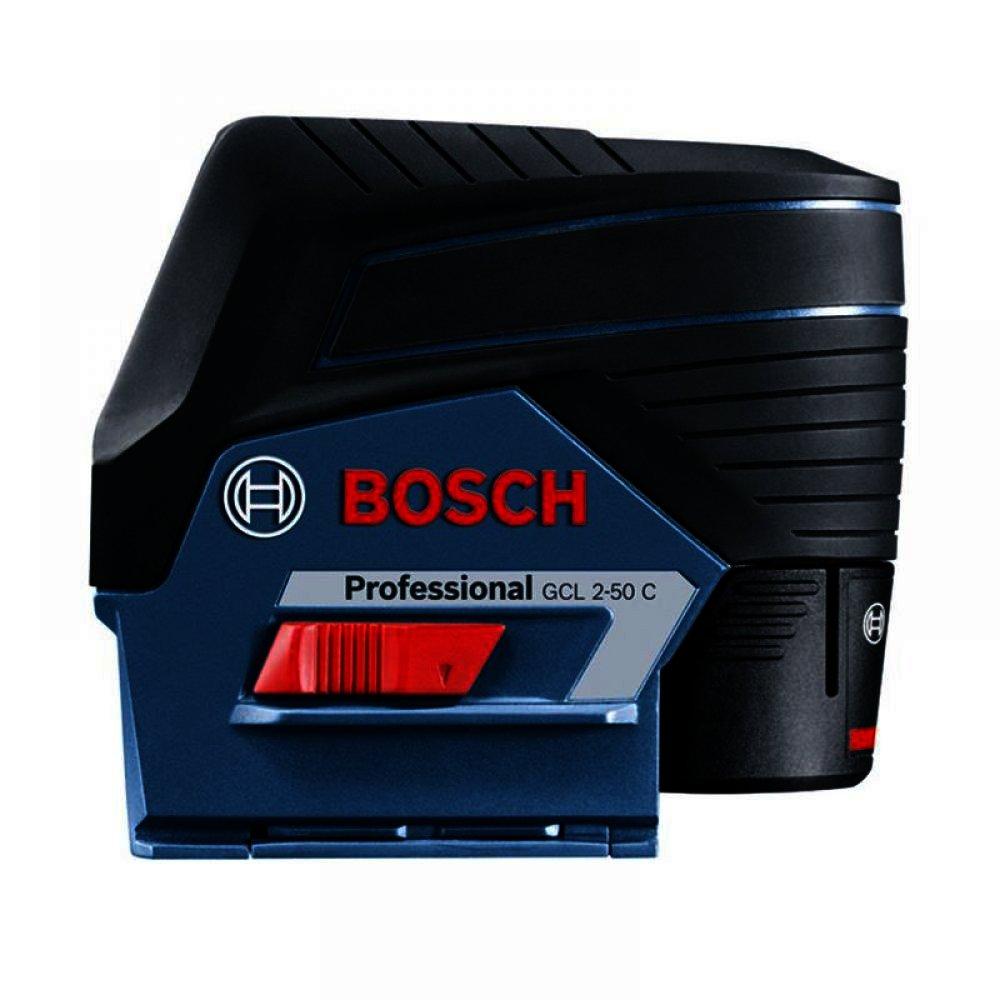 Лазерный уровень BOSCH GCL 2-50 + приемник BOSCH LR6
