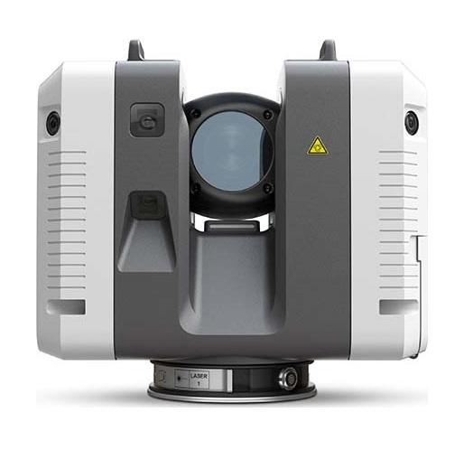 Новый лазерный сканер Leica RTC360 с функцией автоматической сшивки