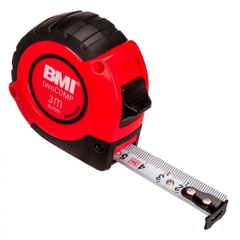 Измерительная рулетка BMI twoCOMP 3 M