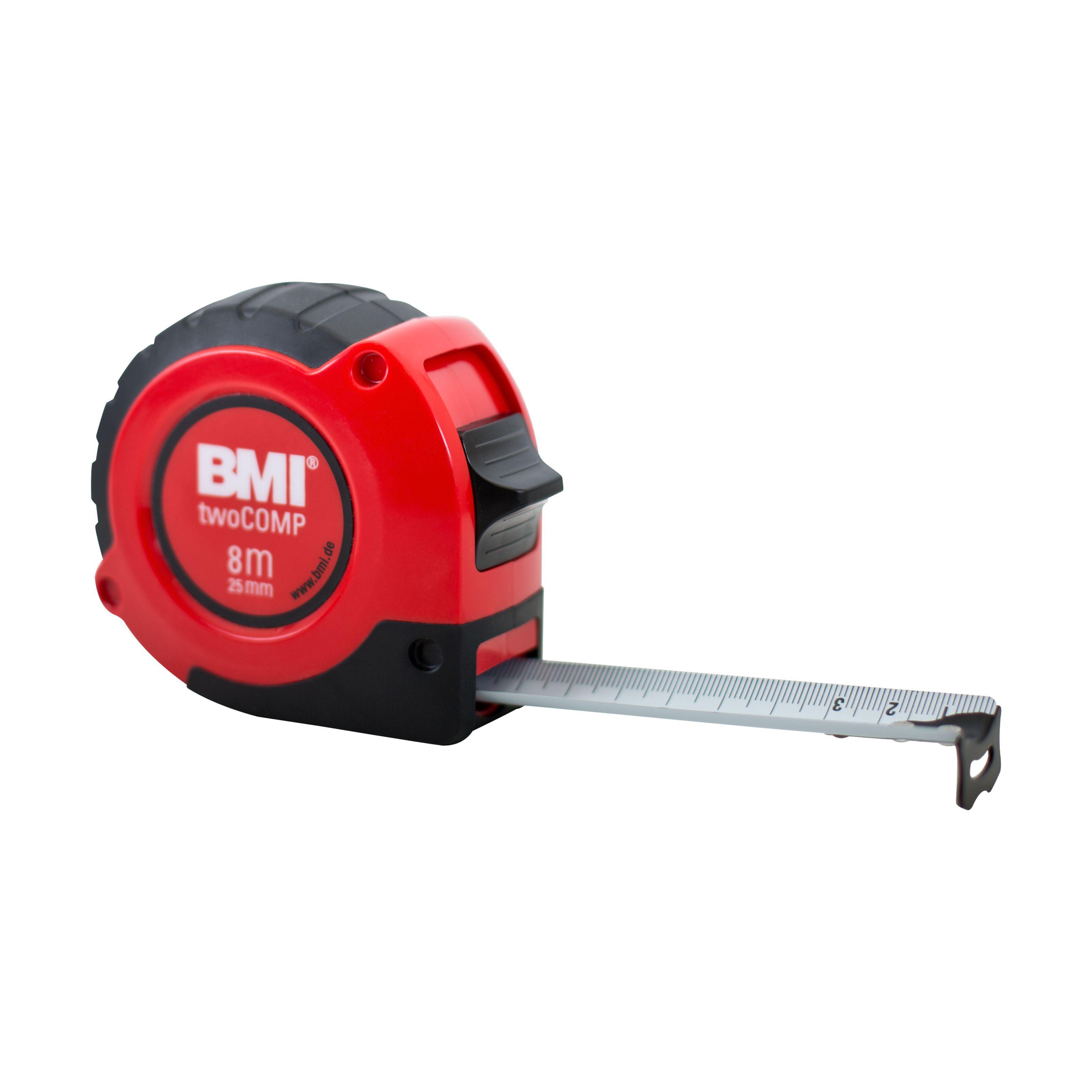Измерительная рулетка BMI twoCOMP 8 M
