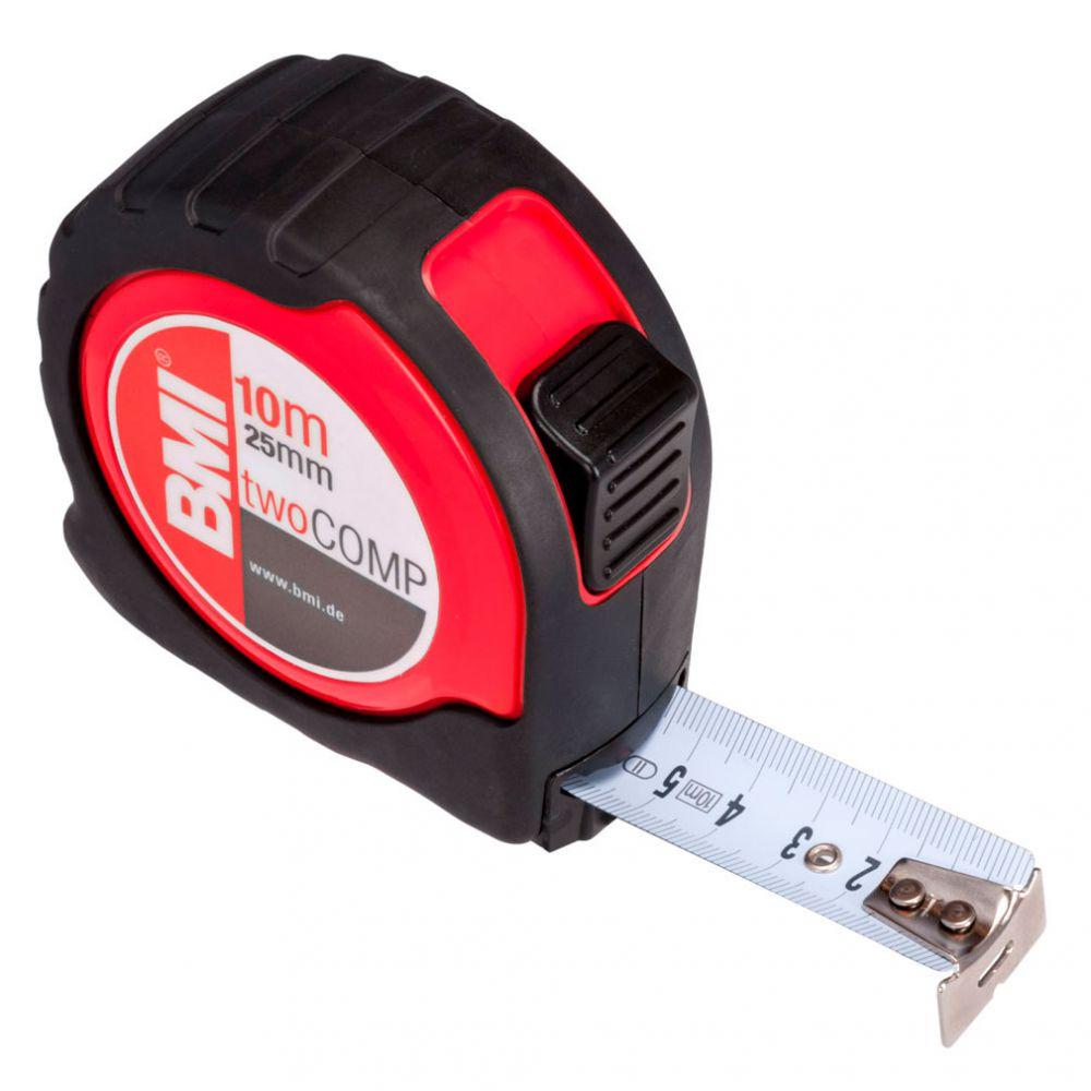 Измерительная рулетка BMI TAPE twoCOMP MAGNETIC 10 M